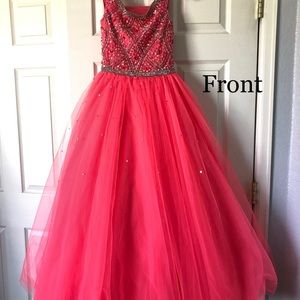 Tiffany Designs Dresses - Little Girls Evening Gown - Pageant dress